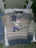 Отдается в дар свитер для мальчика