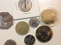 Отдается в дар Монеты юбилейные и разменные