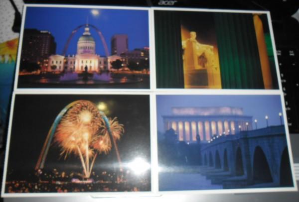 Набор открыток юнеско, открытку