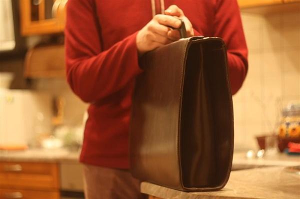 Ретро портфель моего дедушки