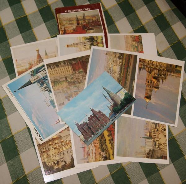 Открытки, набор открыток ссср