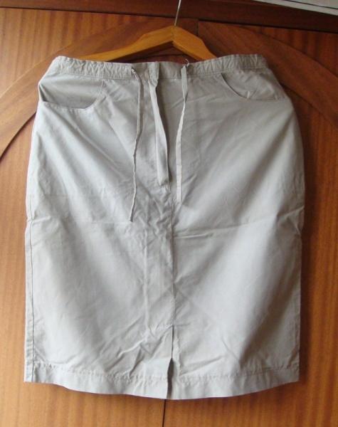 юбка с завязками