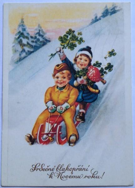 правильному чешские открытки с новым годом событий, которые