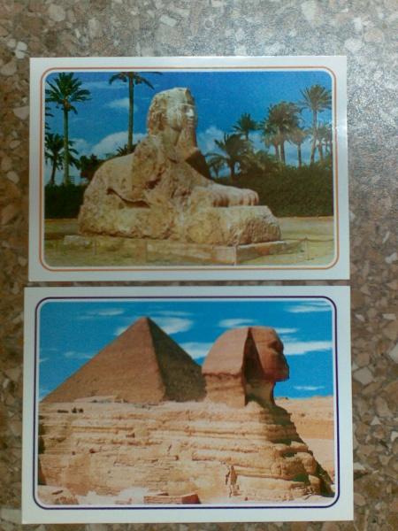 Открытка с египтом, года