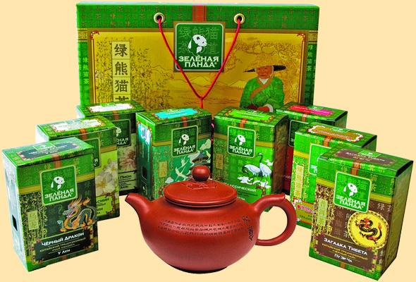 Чай зеленый, черный, белый