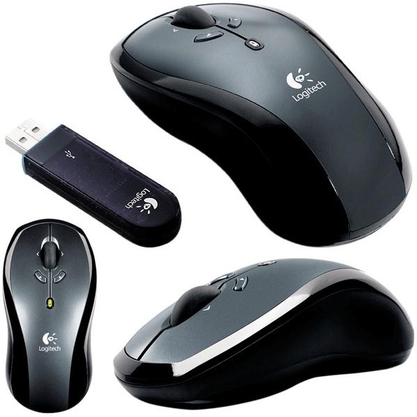 Беспроводная мышка LogitechLX7.