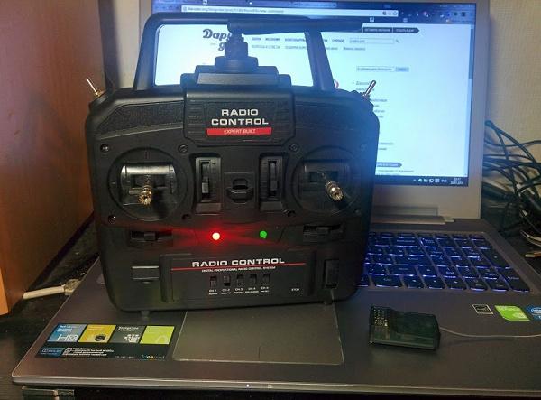 Аппаратура радиоуправления 6CH 2,4GHz