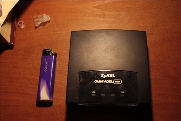 Модем ZyXEL OMNI ADSL USB EE