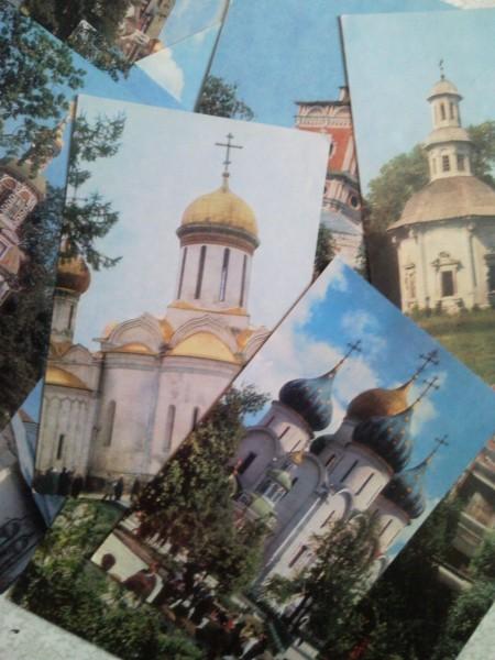 Открытки с памятниками архитектуры, классические шаблон открытки