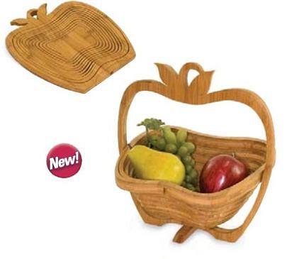 бамбуковая корзинка для фруктов
