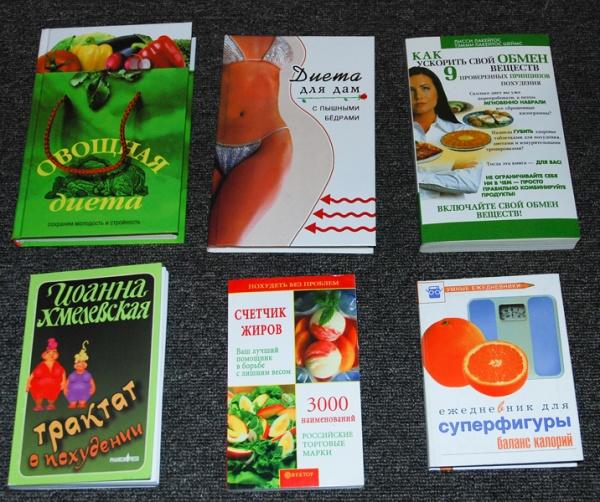 Книги по похудению список