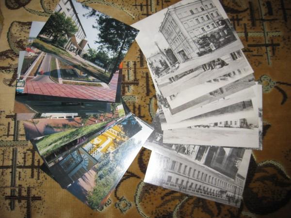 Отдам даром открытки и календарики, фоном новый