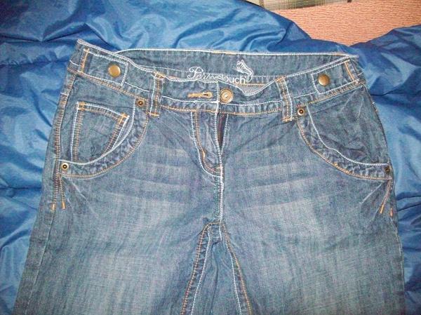 Бриджи джинсовые Р. EUR — 38, UK — 10