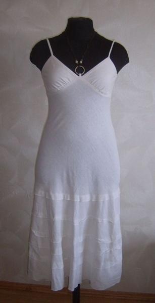 Платье белое — р. 44