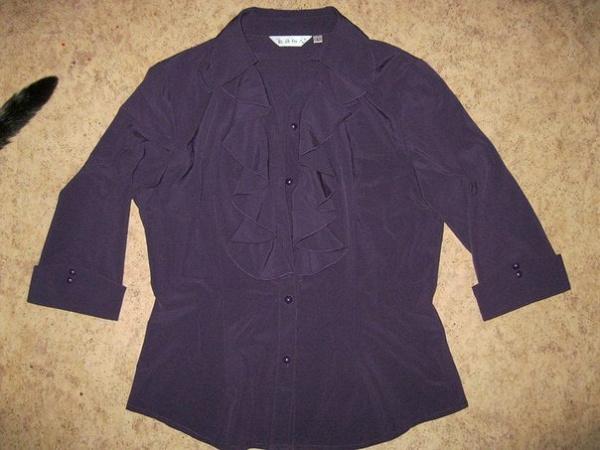 Фиолетовая блуза 44-46р.