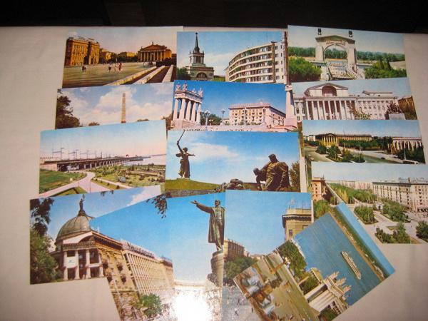 Прикольная, набор открыток о волгограде