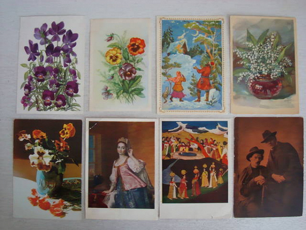 художественные открытки их собирание название фильма знаки