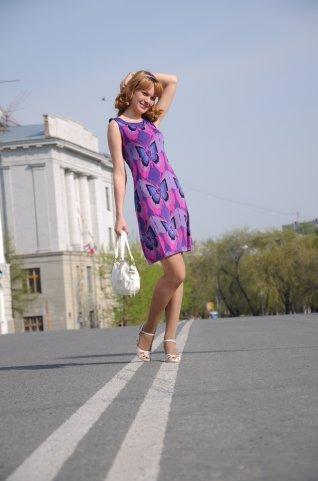 Платье летнее, р-р 40