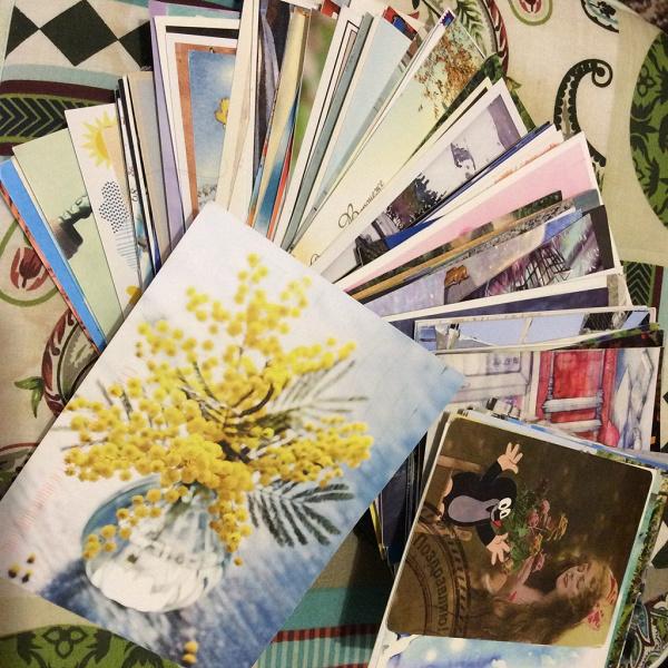 Марки открытка зарубеж, открытки
