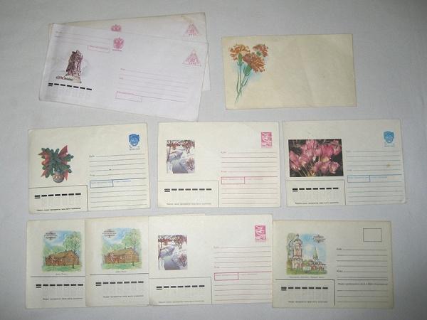 Как правильно клеить марки на открытку