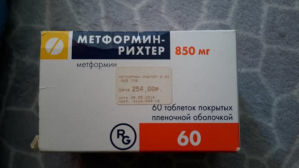 Метформин Рихтер 850 Мг Для Похудения. В каких случаях пьют Метформин и можно ли его употреблять для похудения