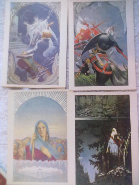 Васильев к.а. наборы открыток, анимашки