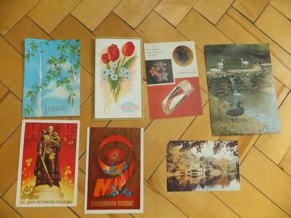 Коллекционеры советские открытки, картинка про сессию