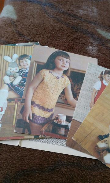 Щедрая, набор открыток по вязанию свяжите детям